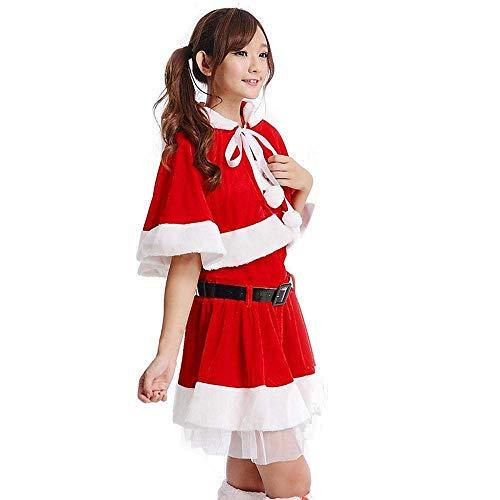 SPFAZJ Santa Anzug Kostüm Weihnachten Kostüm Weihnachtsmann Kostüme Weihnachten Kleid Adult Santa Kleidung Mädchen