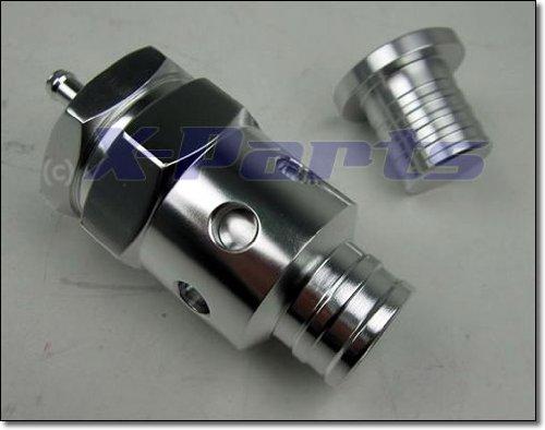 Blow Off Ventil'Little Snapper' CHROM Silber + Stopfen 1,8T Turbo 1010057