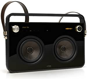 TDK ETP68102BLK T78531 2 Speaker Boombox for iPod Touch (2nd Generation) iPod Classic, iPod Nano (2nd, 4rd, 4th + 5th Generation) iPod 3GS and iPhone 3G