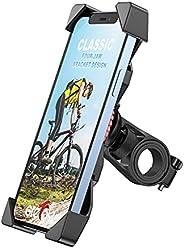 Grefay Bicicletta Supporto Universale per Cellulare Bicicletta Moto Manubrio della Bicicletta con 360 Rotazion