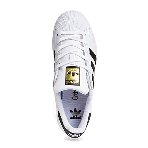 Adidas Originals Unisex Superstar Foundation J Blanc