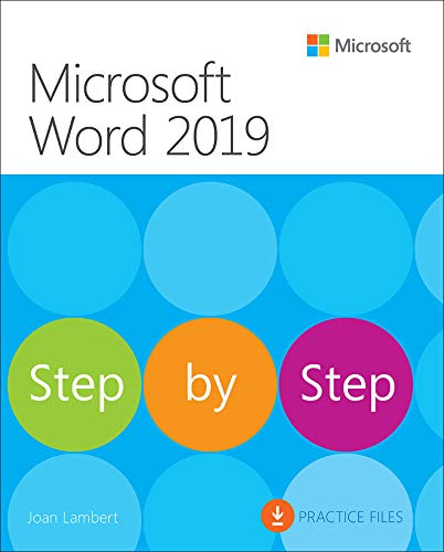 Microsoft Word 2019 Step by Step (English Edition)