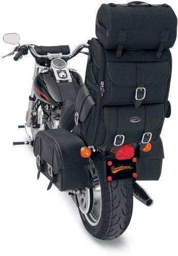 Saddlemen S3500 Deluxe Tasche für Motorrad Tourismus (Sissy-bar-system)