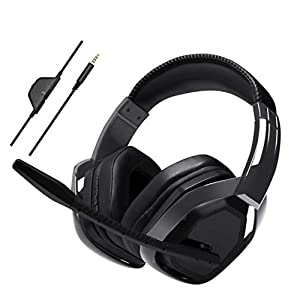 Amazon Basics – Professionelles Gaming-Headset, Schwarz