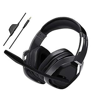 AmazonBasics – Professionelles Gaming-Headset, Schwarz