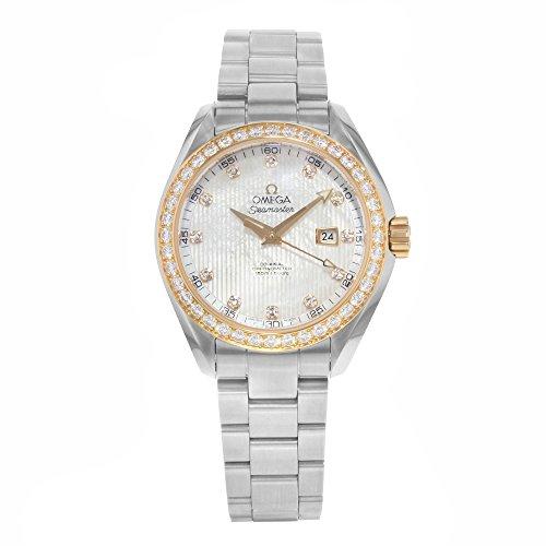 Omega Seamaster Aqua Terra 231.25.34.20.55.003 Diamonds & Steel Women's Watch