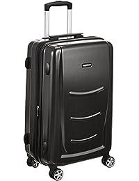 AmazonBasics 56 cm Slate Grey Hardshell Cabin Trolley