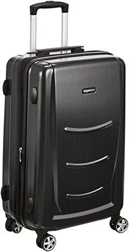 AmazonBasics - Trolley rigido, 55 cm (utilizzabile come bagaglio a mano di dimensioni standard), Grigio Ardesia