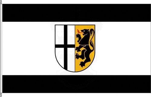 U24 Fahne Flagge Wesel Bootsflagge Premiumqualit/ät 30 x 45 cm