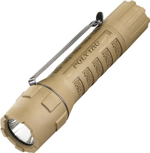 Streamlight 88851 Poly Tac Taschenlampe Coyote CR123 Streamlight Tactical Handheld