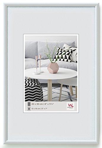 Walther KW835H Galeria Kunststoffrahmen im Format 28 x 35 cm, weiß
