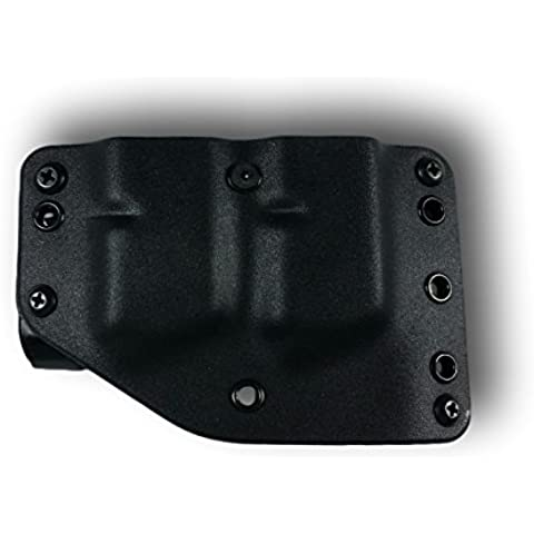 PHALANX DEFENSE SYSTEMS Stealth Operator Twin Mag Holster, (System Operator)