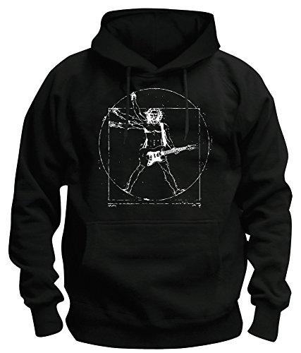TShirt-People -  Felpa con cappuccio  - Collo a U  - Maniche lunghe  - Uomo Black L