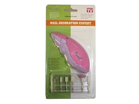Neutre Kit Manucure et pédicure Decoration Expert (violet)