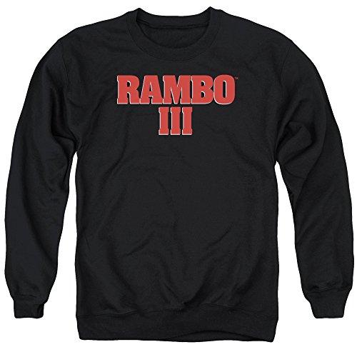 Rambo -  Felpa  - Uomo Black