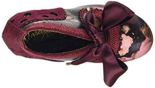 Irregular Choice Juliet - Scarpe con Tacco Donna Rosso (Red)