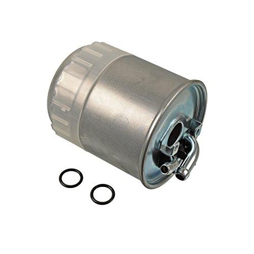 Blue Print ADA102302 Kraftstofffilter / Dieselfilter mit Dichtringen, 1 Stück (Filtron Ersatzteile)