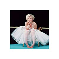 "Pyramid International ""Ballerina Marilyn Monroe"" Art Print, Multi-Colour, 40 x 40 x 1.3 cm"