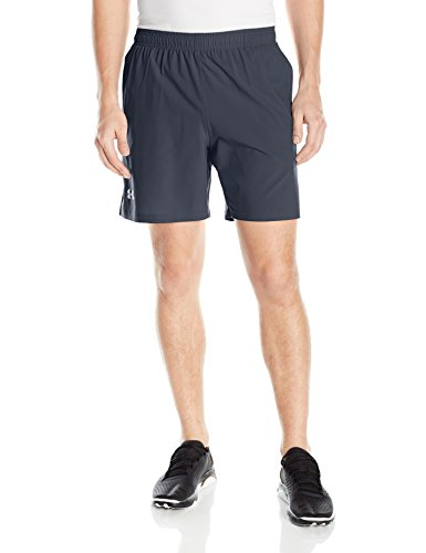 Under Armour Ua Launch Sw 7'' Short, Pantaloncini Uomo Grigio (Stealth Gray / Stealth Gray / Reflective)