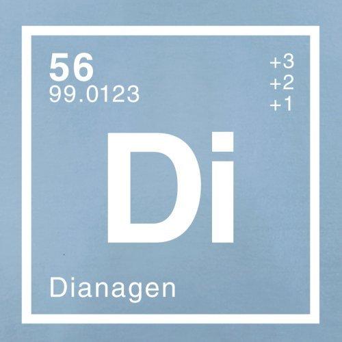 Diana Periodensystem - Herren T-Shirt - 13 Farben Himmelblau