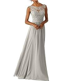 Suchergebnis auf für: kleid lang silber La_Marie