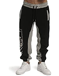 Yakuza Jogginghose Herren 893 Two Face Jogger JOB 11029 (Schwarz)