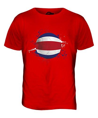 CandyMix Costa Rica Fußball Herren T Shirt Rot