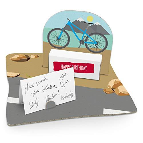 itenga Fahrrad modern Geldgeschenk Gastgeschenk Verpackung Geschenk