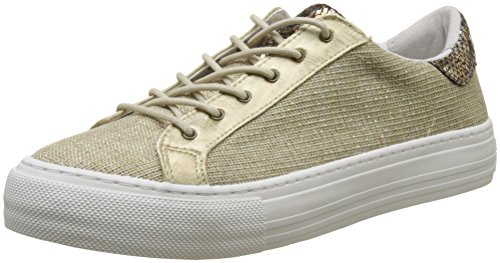 Plato Sneaker Fortune, Baskets Basses Femme, Blanc (White), 36 EUNo Name