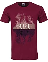 Grindstore Men's Where There's A Will T-Shirt Burgundy