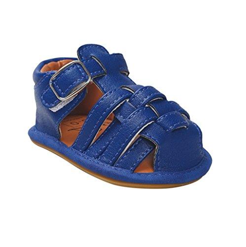 Monkey Scrubs (Auxma Baby-Jungen-Mädchen casual Sandalen Kleinkind Scrub erste Wanderer Kinder Schuhe für 0-6 6-12 12-18 Monat (6-12 M, Marine))