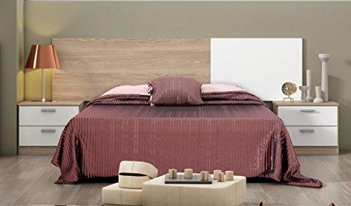 hogar24es-conjunto-dormitorio-de-matrimonio-smarty-cabecero-2-mesitas-color-roble-blanco