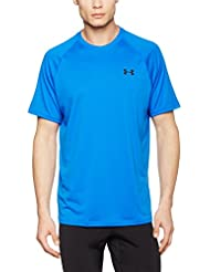 Under Armour Ua Tech Ss Tee Herren Fitness - T-shirts & Tanks, Schwarz (Black Marker), Gr. 2XL