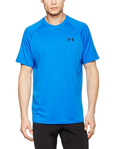 Under Armour Herren Fitness T-Shirt UA Tech Tee Blau (Blue Marker)