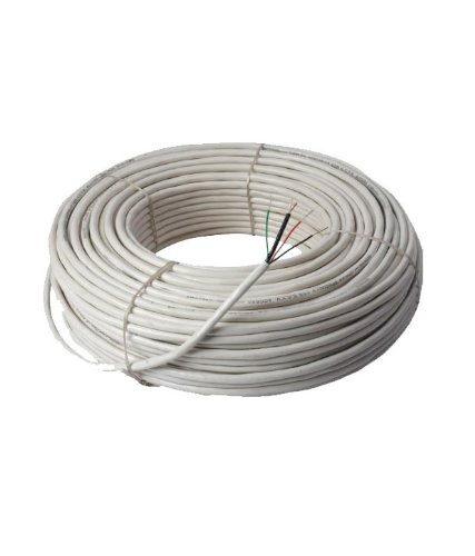 30 meter CCTV Camera Wire, 100% Pure Copper 3+1 Cable for CCTV Camera  available at amazon for Rs.590