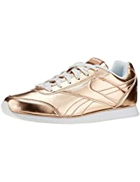 Reebok Royal Cljog 2, Scarpe da Running Bambina, Oro (Rose Gold Metallic), 36.5 EU