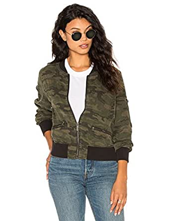 blooming jelly femme veste bomber camouflage militaire arm e militaire camo manteau blouson. Black Bedroom Furniture Sets. Home Design Ideas