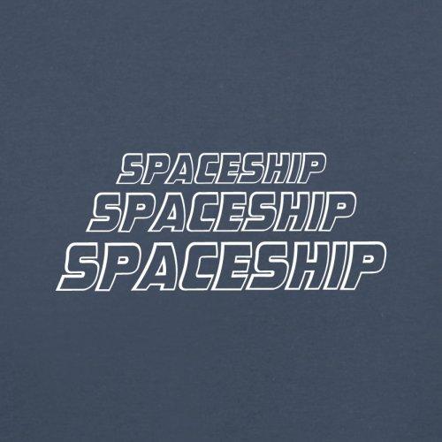 Space Ship - Herren T-Shirt - 13 Farben Navy