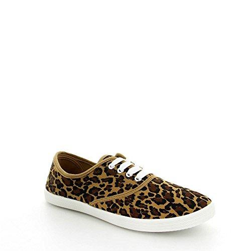 by swan ,  Sneaker donna leopardo