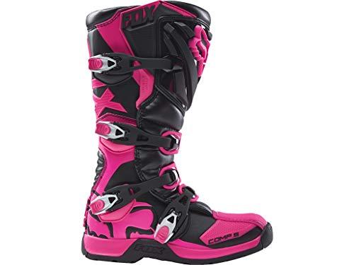 FOX Comp 5 Kinder Motocross Stiefel 2018 4 Schwarz/Pink Fox Comp 5 Boots