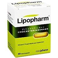 LIPOPHARM Pflanzlicher Cholesterinsenker Kapseln 50 St preisvergleich bei billige-tabletten.eu