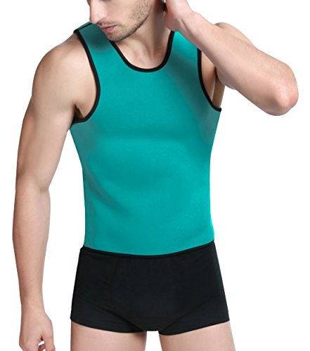 Niyatree Weight Loss Gym Shirt for Workout Men Slimming Body Shaper Neoprene Sauna Shirt
