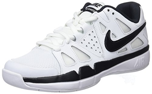 Nike Air Vapor Adavantage Carpet, Scarpe da Tennis Uomo, Blanco (White/Black), 41 EU