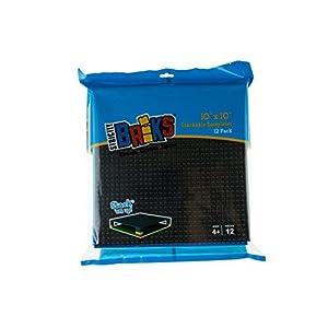 Strictly Briks Basi per Costruzioni impilabili Premium - compatibili con Tutte Le Principali Marche - 25,4 x 25,4 cm… 0806810339510 LEGO