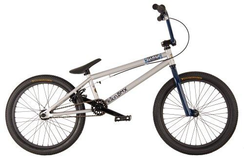 FICTION-BMX 2012 Komplett Bike Rad Fable space-suit-silver / dark-blue (silber / dunkel-blau)