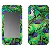 YOUNiiK Designfolie / Skin für Samsung S5230 star - Motiv Peacock