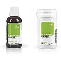 Beovita - Schwarzkümmelöl (50 ml) und Schwarzkümmel Kapseln (60 Kapseln)