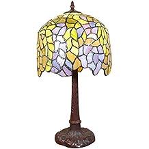 Htdeco - Luminaires - Lámpara Wisteria Tiffany