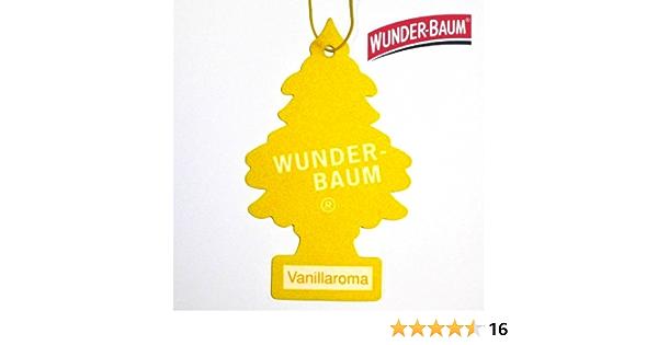 Wunderbaum Vanille Duftbaum Duftbäumchen Lufterfrischer Drogerie Körperpflege