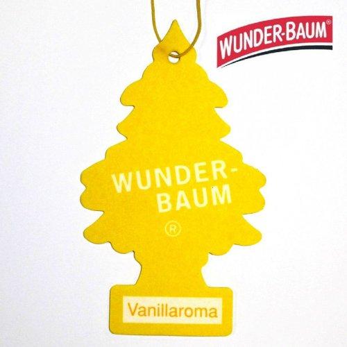 Wunderbaum Vanille Duftbaum Duftbäumchen Lufterfrischer